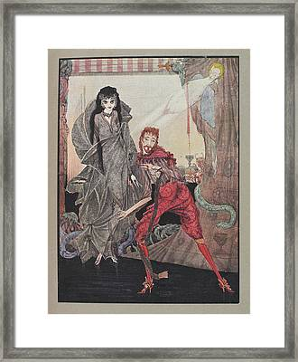 Ligeia Framed Print by British Library