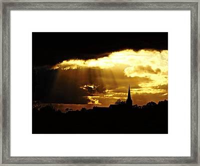 Light Above Framed Print by Katrina Dimond