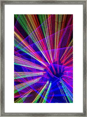 Light Abstract Framed Print
