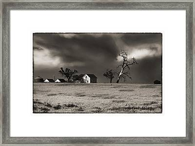 Framed Print featuring the photograph Light After The Storm by James Steele