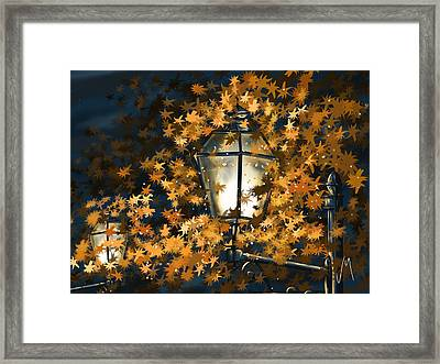 Light Among The Leaves Framed Print by Veronica Minozzi