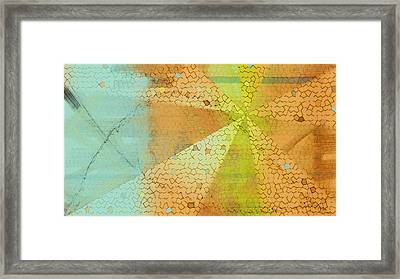 Light And Color Layers Framed Print by Constance Krejci