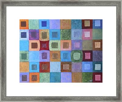 Light And Colour Breathing Framed Print by Jennifer Baird
