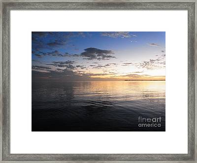 Light And Darkness - Equilibrium Framed Print