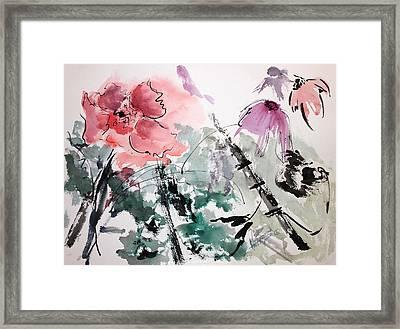 Light And Easy Framed Print by Mary Spyridon Thompson
