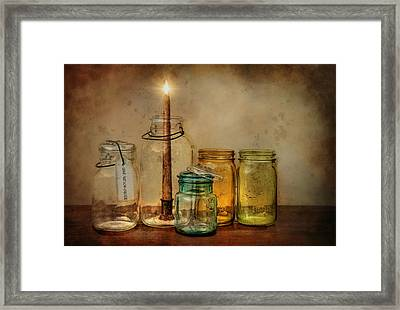 Light And Low Cal Framed Print by Robin-Lee Vieira