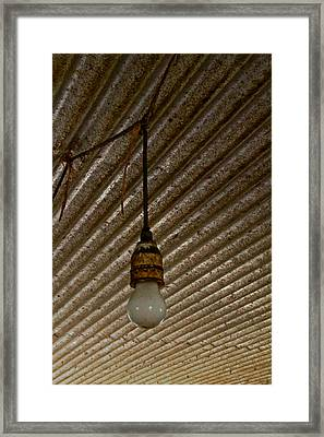 Light And Rays Framed Print
