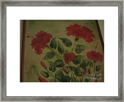 Light And Shadow Framed Print by Indrani Moitra