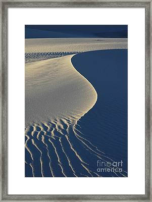 Light And Shadows Framed Print by Vivian Christopher