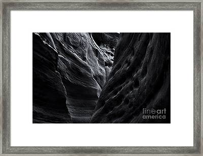 Light And Texture Framed Print
