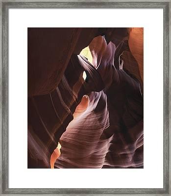 Light Angles Framed Print