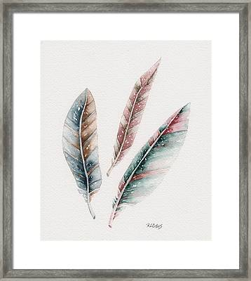 Light As A Feather Framed Print