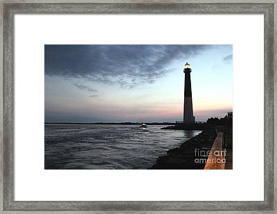 Light At Dawn Framed Print