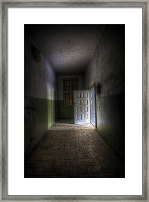 Light At The End Framed Print by Nathan Wright