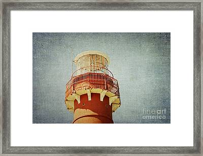 Light At The Top Framed Print by Bob and Nancy Kendrick