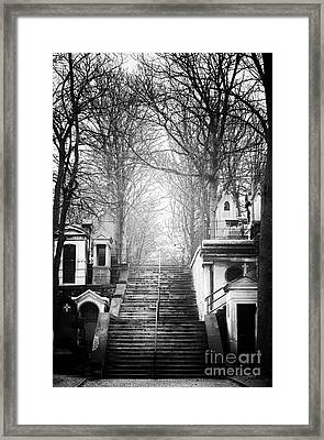 Light At The Top Framed Print by John Rizzuto