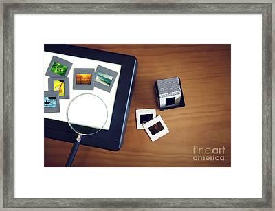 Light-box Framed Print by Carlos Caetano