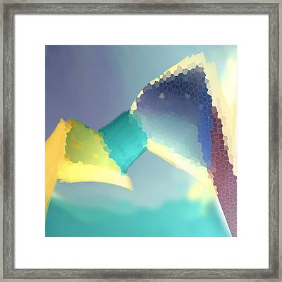 Light Box Framed Print by Constance Krejci