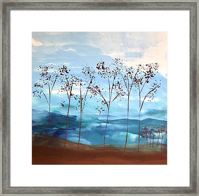 Framed Print featuring the painting Light Breeze by Linda Bailey