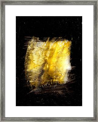 Light Coming Through Framed Print