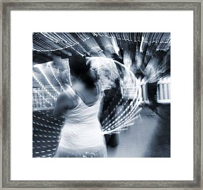 Light Dancers Framed Print by Dan Sproul