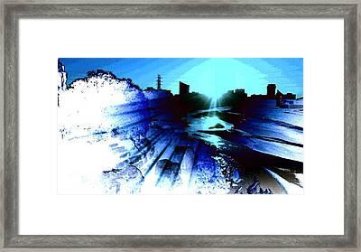 Light Framed Print by David Alvarez