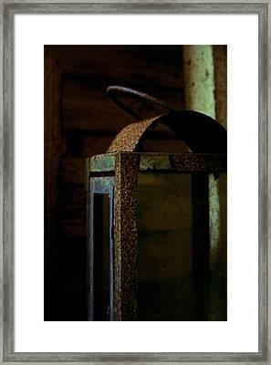 Light Decay Framed Print by Odd Jeppesen