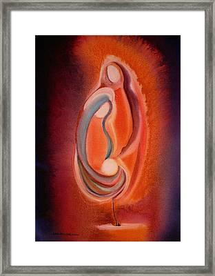 Light Divine Framed Print
