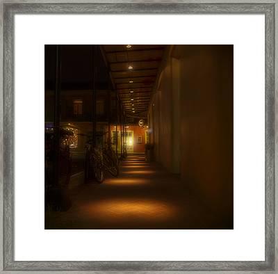 Light Dots Framed Print by Stellina Giannitsi
