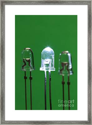 Light-emitting Diodes Framed Print