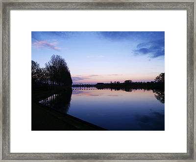 Light Fall Framed Print