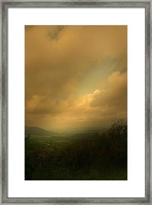 Light Fall Framed Print by Nina Fosdick