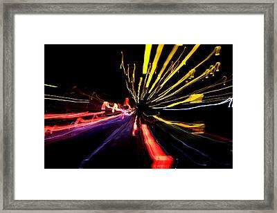 Light Fantastic 03 Framed Print by Natalie Kinnear