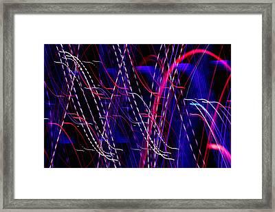Light Fantastic 06 Framed Print by Natalie Kinnear
