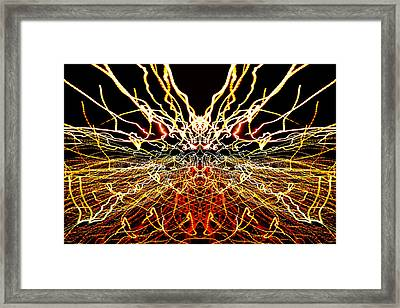 Light Fantastic 18 Framed Print by Natalie Kinnear