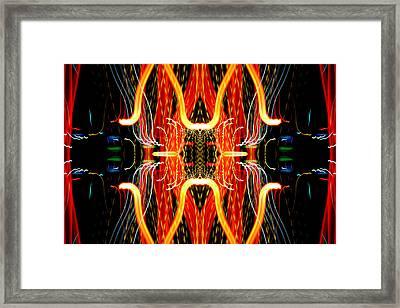 Light Fantastic 19 Framed Print by Natalie Kinnear
