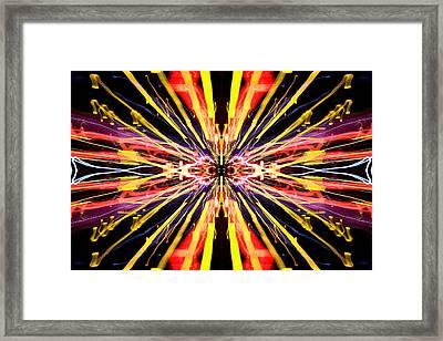 Light Fantastic 22 Framed Print by Natalie Kinnear