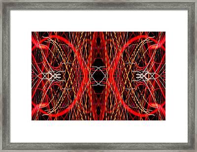 Light Fantastic 25 Framed Print by Natalie Kinnear