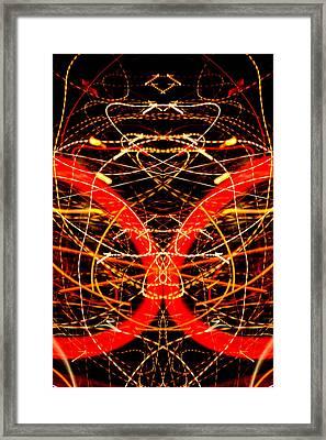 Light Fantastic 32 Framed Print by Natalie Kinnear