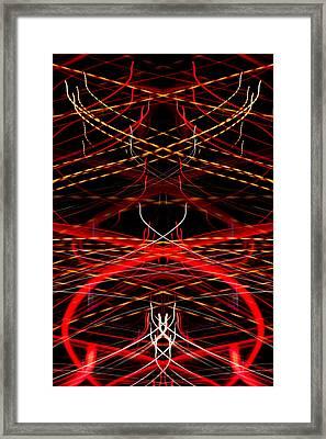 Light Fantastic 33 Framed Print by Natalie Kinnear