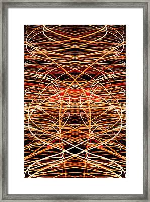 Light Fantastic 40 Framed Print by Natalie Kinnear