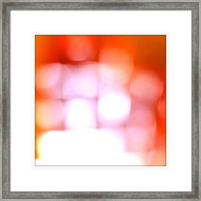 Light Field Framed Print by Michelle Calkins