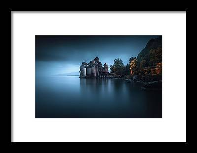 Lake Geneva Framed Prints