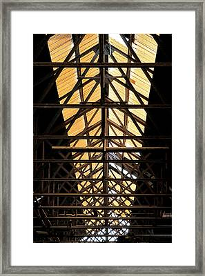 Light From Above Framed Print