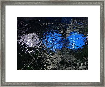 Light From Below Framed Print