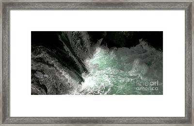 Light From Beneath Framed Print by Rich Collins