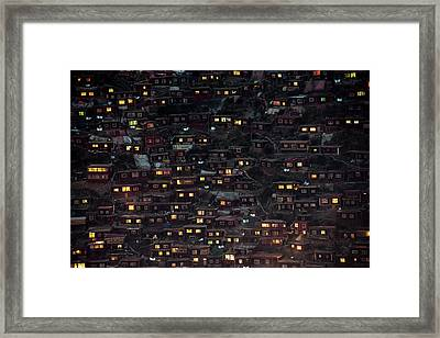 Light From The Window Framed Print