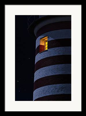 East Quoddy Lighthouse Framed Prints