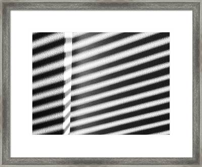 Framed Print featuring the photograph Continuum 9 by Steven Huszar
