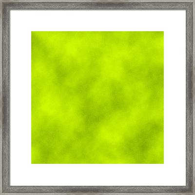 Light Green Leather Texture Background Framed Print by Valentino Visentini